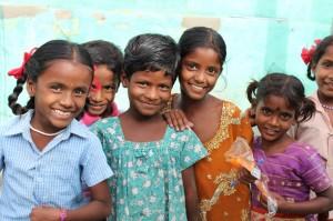 Møte med barna i Keeranur